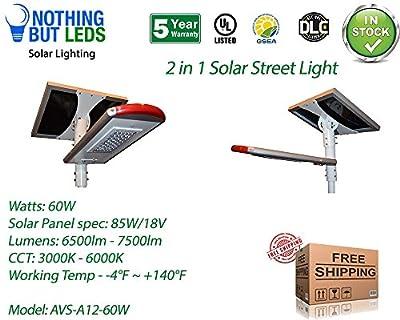 2 in 1 Street Solar Light,CCT Range- 3000k -6000k