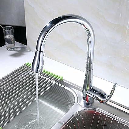Flow Motion Activated Pull Down Kitchen Faucet Chrome Amazon Com