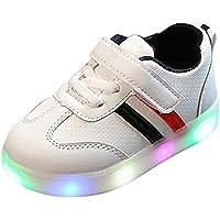 LED Zapatos de Verano Xinantime Zapatillas Deportivas para niños Toddler Kids Zapatos de niña Baby Girls Flower Zapatillas Luminosas LED con Zapatos 1-6 años