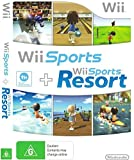 Nintendo Wii Sports / Wii Sports Resort - 2 Games on 1 Disc Bundle Version