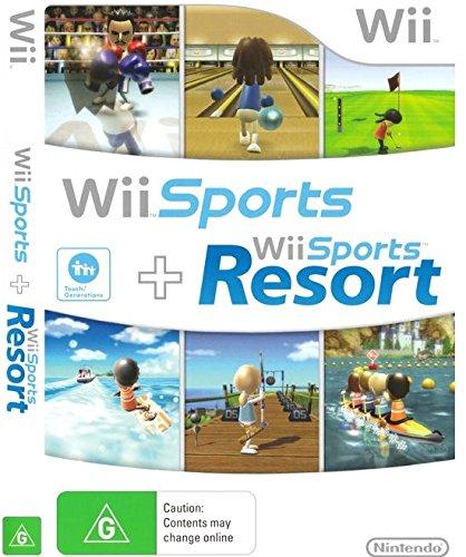 Nintendo Wii Sports / Wii Sports Resort - 2 Games on 1 Disc Bundle Version by Nintendo