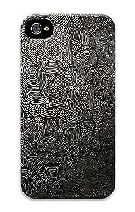iPhone 4 4S Case Black Pattern Best 3D Custom iPhone 4 4S Case Cover