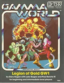 Gamma world science fantasy role playing game 1st edition boxed set legion of gold gamma world module no gw1 gumiabroncs Choice Image