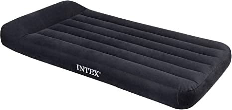 Intex Matelas Lit Gonflable électrique Pillow Rest 1 Place