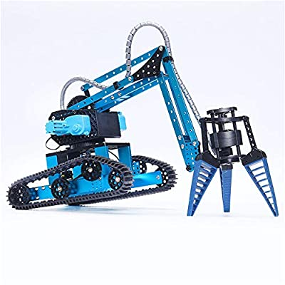 SXPC Three Claw Bionic Robotic arm Intelligent Toy Children's Educational Remote Control car Alloy Robot Toy: Sports & Outdoors