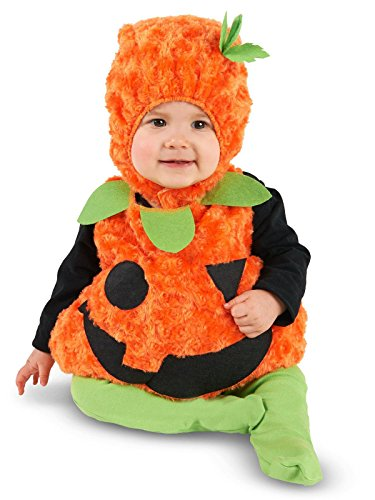 Zhangjiagang Leadtex Clothing Co, L Plush Belly Pumpkin Infant Costume 18-24M