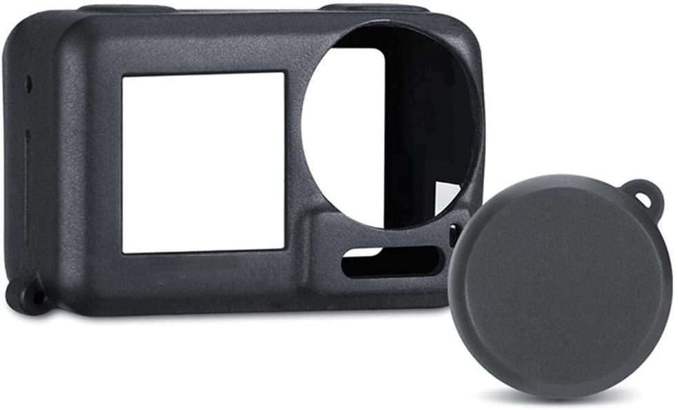 Silicone Sports Camera Protective Cover Lens Cap Case for DJI OSMO ACTION UK