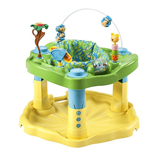 Evenflo Exersaucer Bounce & Learn, Zoo (Activity Bouncer)