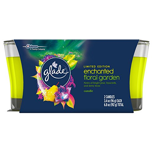 Glade Jar Candle Air Freshener Candles, Enchanted Floral Garden, 6.8 - Glades Shopping