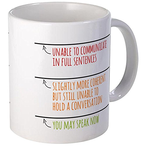 CafePress Speak Mugs Unique Coffee