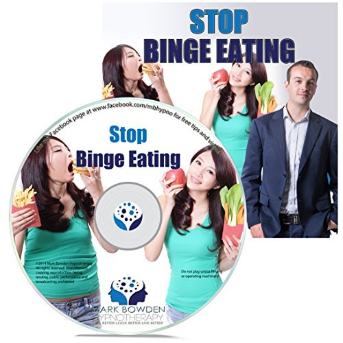 Stop Binge Eating Self Hypnosis CD / MP3 and APP (3 IN 1 PURCHASE!) - Hypnotherapy for Weight Loss Can be an Effective Tool For Weight Loss. Try this Weight Loss Hypnosis CD For Yourself