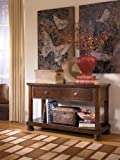 Rustic Brown Console Sofa Table – Signature Design by Ashley Furniture Review