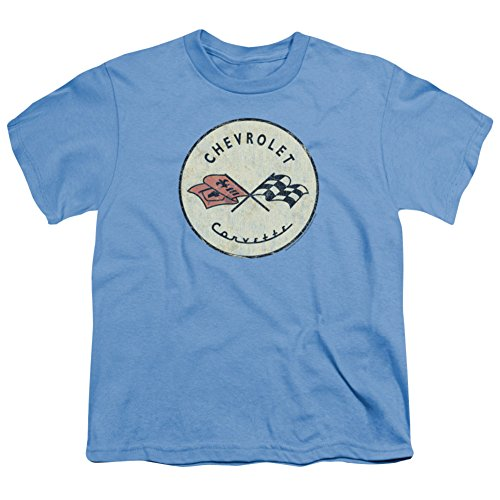 Youth: Chevy- Classic Corvette Logo Kids T-Shirt Size YXL