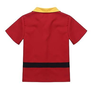 Agoky Disfraz de Gastón para Niños Cosplay Infantil Príncipe ...