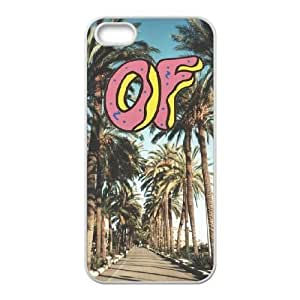wugdiy New Fashion Hard Back Cover Case for iPhone 5,5S with New Printed OFWGKTA