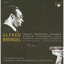 Alfred Brendel The Complete Vox, Turnabout and Vanguard Recordings by Alfred Brendel