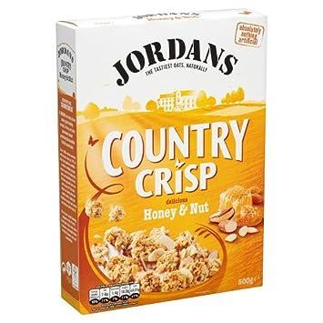 ea5416e7b858e Jordans Country Crisp Honey and Nut, 500 g