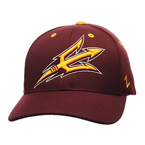 NCAA Arizona State Sun Devils Men's Competitor Hat, Adjustable, (Devils Adjustable Hat)