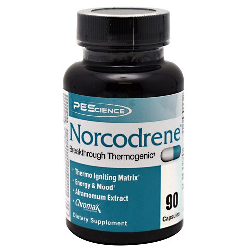 PEScience Norcodrene Energizing Thermogenic Capsules, 90 Count