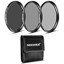 Neewer® 58MM Neutral Density Professional Photography Filter Set (ND2 ND4 ND8) for the CANON 18-55mm EF-S IS STM Zoom Lens