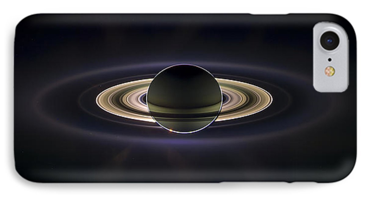 iPhone 8 Slim Case ''Saturn'' by Pixels by Pixels