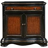 Pulaski Two Tone Hall Chest, Black