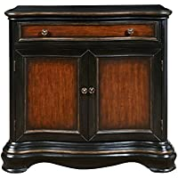 Pulaski DS-P017035 Traditional Two Door Hall Chest with Rich Two Tone Finish, Black