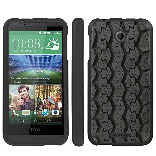 Mobiflare, Slim Guard Armor Design Case, for [HTC Desire 510] - Tire Tracks (Htc Desire 510 Track Case)