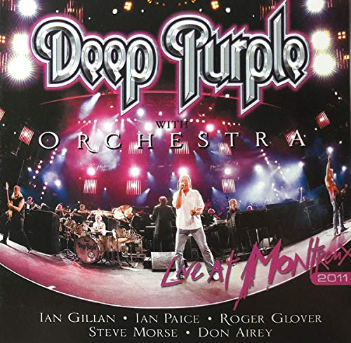DEEP PURPLE WITH ORCHESTRA - LIVE AT MONTREUX   2CD (Deep Purple & Orchestra Live At Montreux)