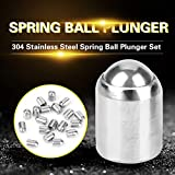 20pcs 304 Ball Plunger Stainless Steel Precision