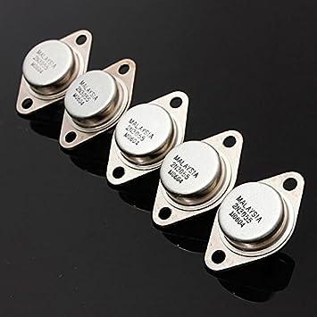 Calli 5 PC 2N3055 NPN amplificador de alta potencia y el transistor de conmutación a-