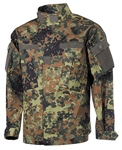 USA chaqueta de campo, ACU, Acanalado - Nightcamo, XL Flecktarn