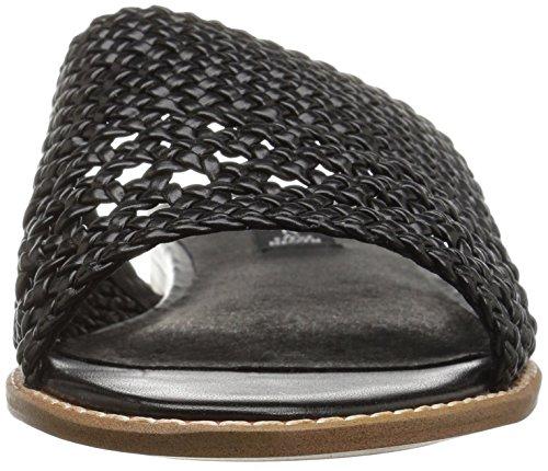 STEVEN by Steve Madden Womens Whitnie Flat Sandal Black