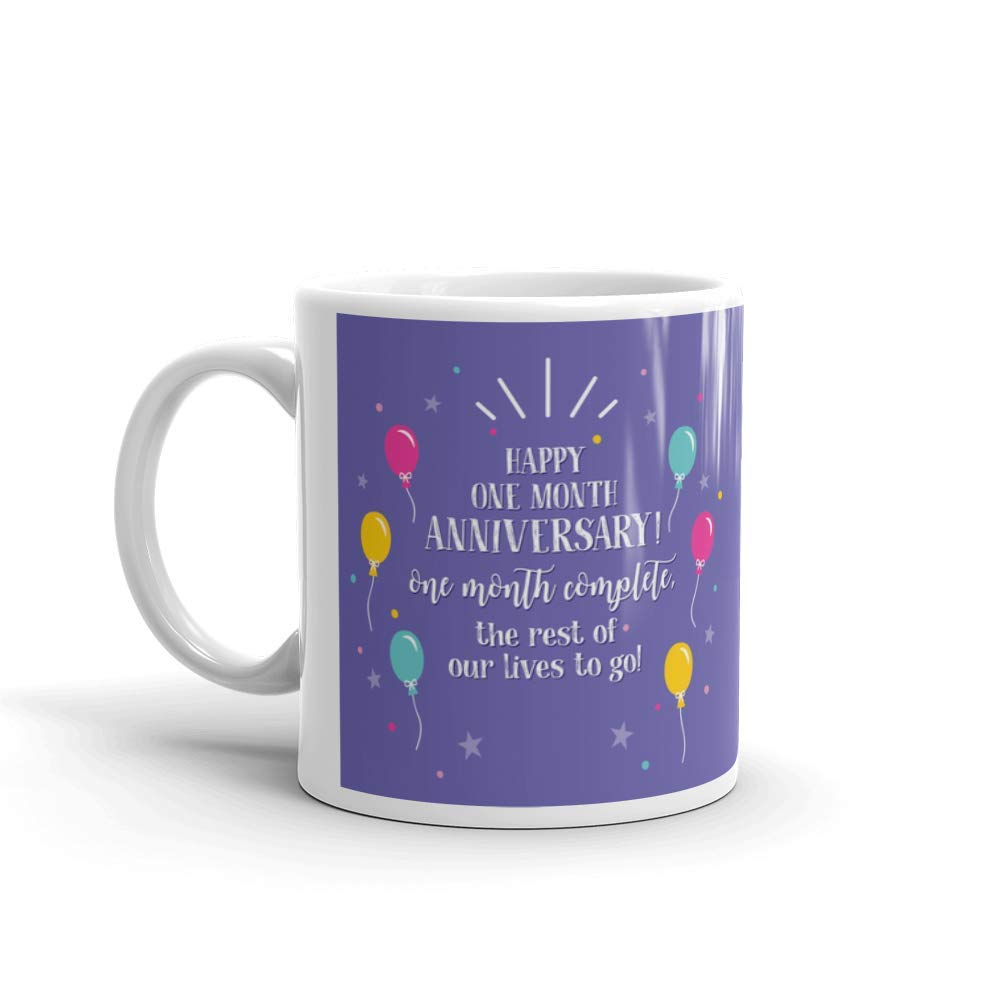 Buy Family Shoping Anniversary Gifts For Husband Wife One Month Anniversary Printed Coffee Mug Tea Cup 320ml Online At Low Prices In India Amazon In