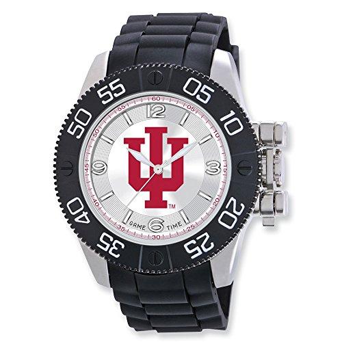 (Mens Indiana University Beast Watch, Best Quality Free Gift Box)