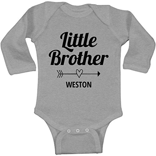 FUNNYSHIRTS.ORG Little Brother Weston Arrow: Infant Long Sleeve Bodysuit Weston Arrow