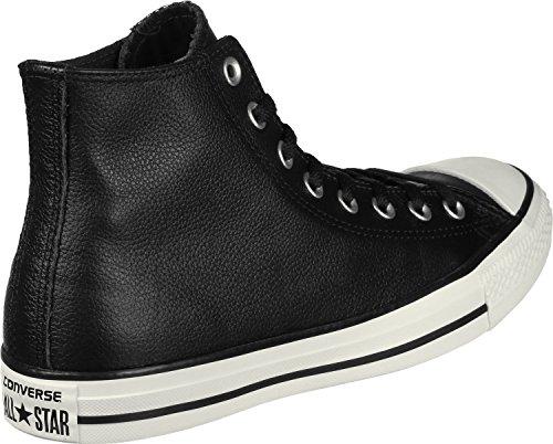 All Cuir Converse Noir Noir Taylor Egret Star Chuck Hi qw8Eazx