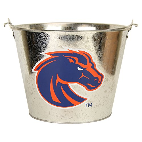 NCAA Collegiate Full Color Beer Buckets (Holds 5+ Beers and Ice) (Boise State Broncos) ()