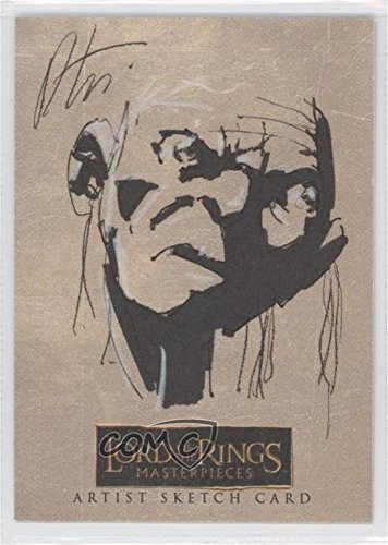 1 Sketch Card (Robert Teranishi #1/1 (Trading Card) 2006 Topps Lord of the Rings Masterpieces - Sketch Cards #N/A)