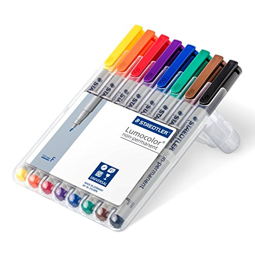 Lumocolor Watersoluble Marker Fine Set 8