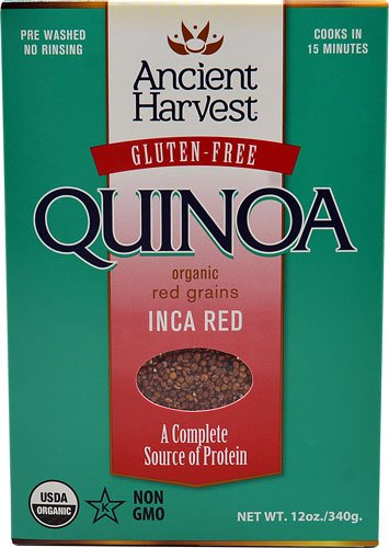 Ancient Harvest Organic Quinoa Inca Red -- 12 oz - 2 pc