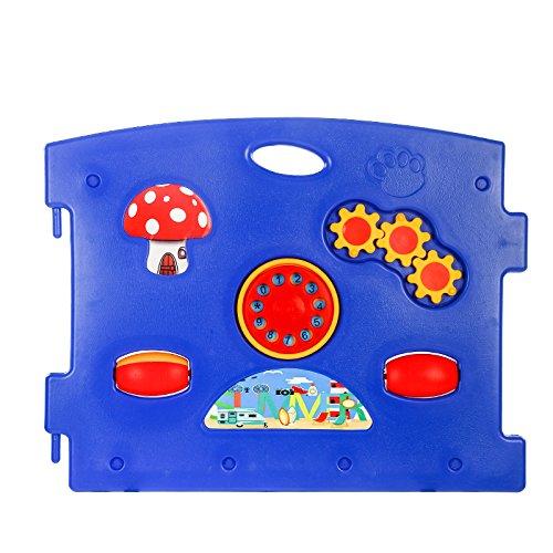 8 Panel Large Foldable Kids Playpen//Room Divider