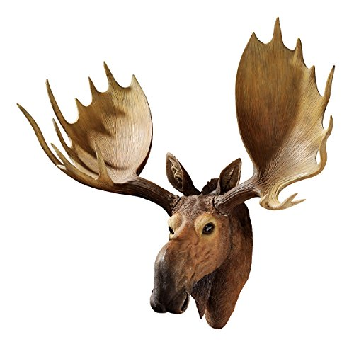 Design Toscano Alaskan Moose Trophy Wall Sculpture