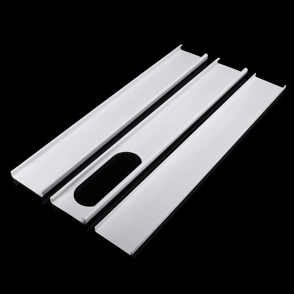 Lai-LYQ Portable Air Conditioner Window Plate Kit Adjustable Window Slide Plate for 13cm Exhaust Tube