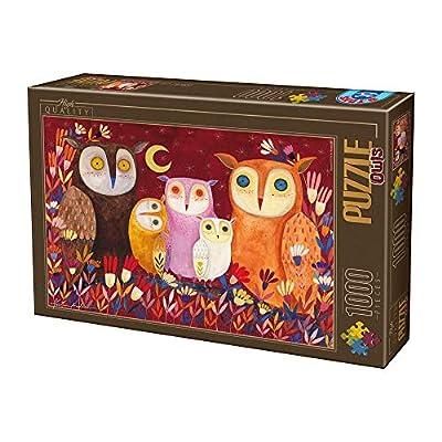D Toys Puzzle 1000 Pcs 73747ow01 Uni