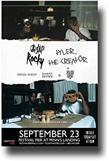amazon com tyler the creator poster 11 x 17 promo for a 2016
