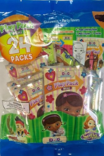 Party Favor Play Pack -Disney Junior - 24 Mini Packs