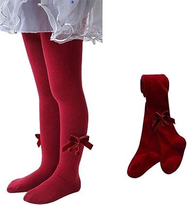 Bow Girls Stockings Baby Anti-slip Tight Pants Warm Socks Kids Pantyhose