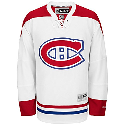 - Reebok Montreal Canadiens NHL White Official Premier Home Jersey for Men (4XL)