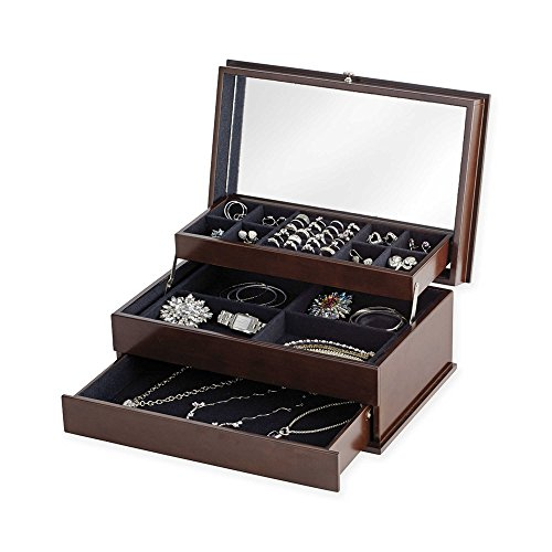 Lori Greiner Auto-Open Safekeeper Jewelry Box